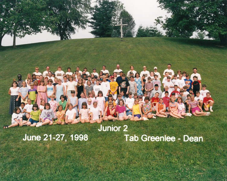 Junior 2, June 21-27, 1998 Tab Greenlee, Dean