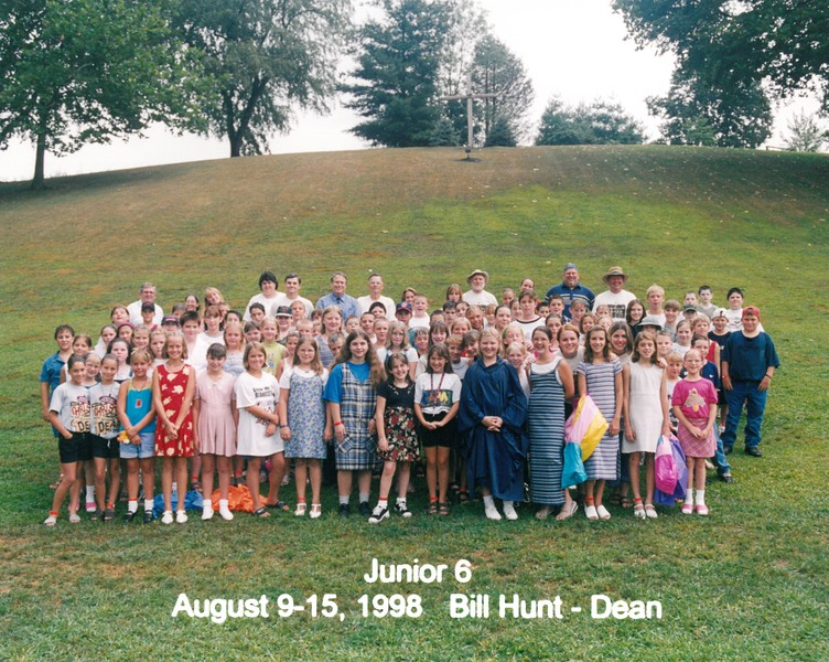 Junior 6, August 9-15, 1998 Bill Hunt, Dean