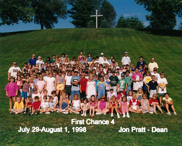 First Chance 4, July 29-August 1, 1998 Jon Pratt, Dean