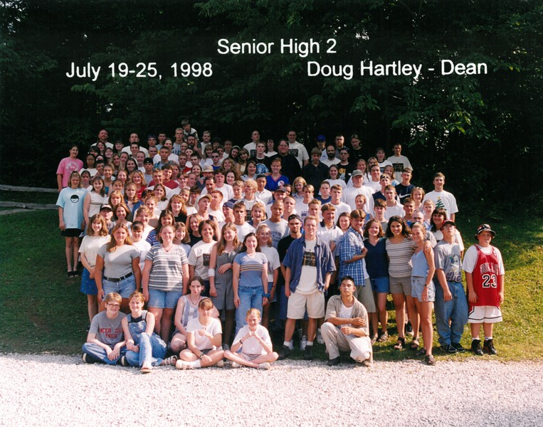 Senior High 2, July 19-25, 1998 Doug Hartley, Dean