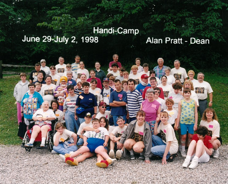 Handi-Camp, June 29-July 2, 1998 Alan Pratt, Dean