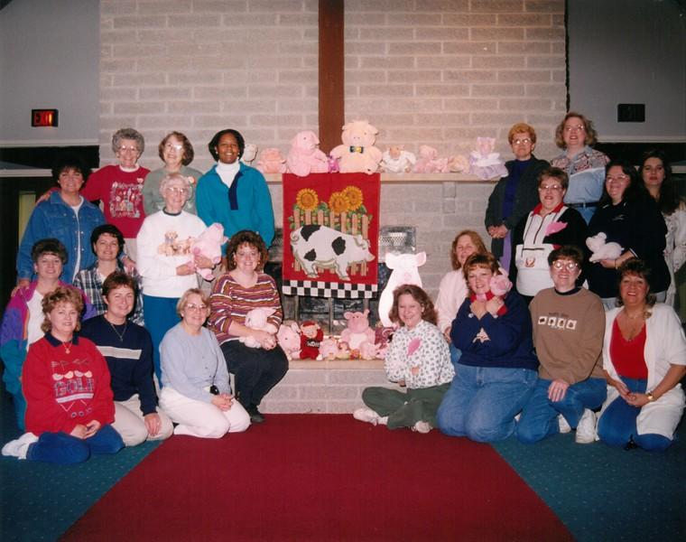Women's Wellness Camp, Oct 29-Nov 1, 1998     C  Daniels & B Anderson Deans