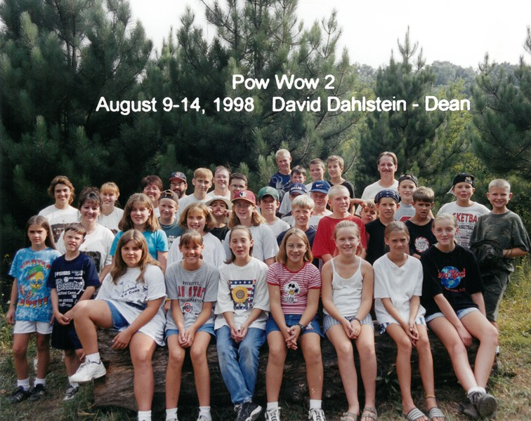 Pow Wow 2, August 9-14, 1998 David Dahlstein, Dean