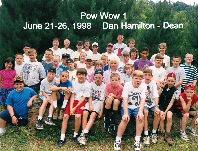 Pow Wow 1, June 21-26, 1998 Dan Hamilton, Dean