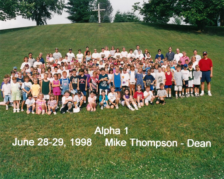 Alpha 1, June 28-29, 1998 Mike Thompson, Dean