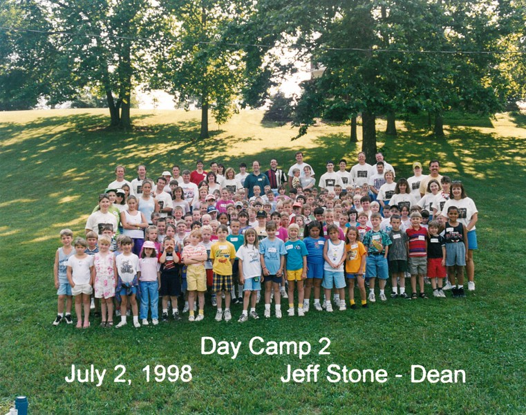 Day Camp 2, July 2, 1998 Jeff Stone, Dean