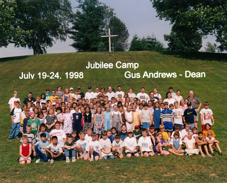 Jubilee Camp, July 19-24, 1998 Gus Andrews, Dean
