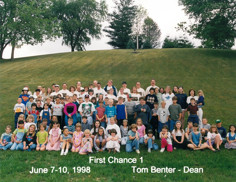 First Chance 1, June 7-10, 1998 Tom Benter, Dean