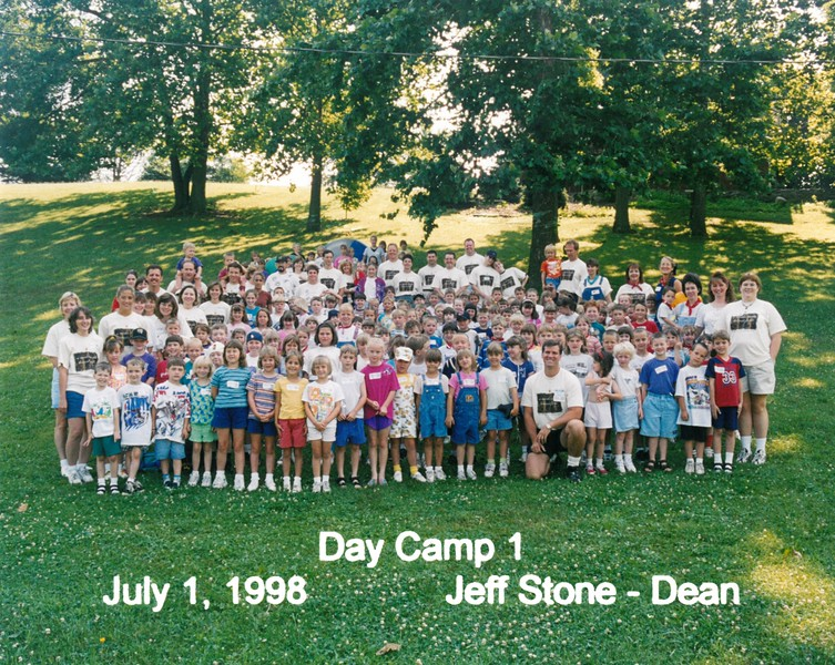 Day Camp 1, July 1, 1998 Jeff Stone, Dean