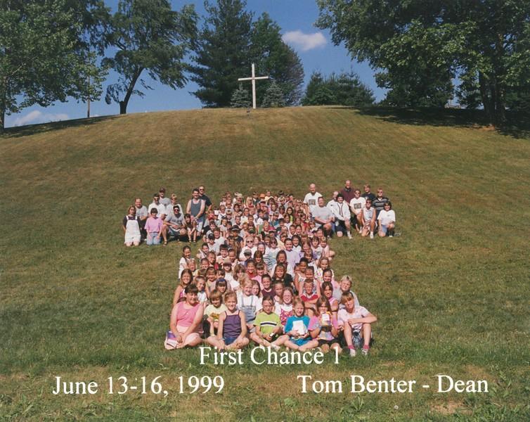 First Chance 1, June 13-16, 1999 Tom Benter, Dean