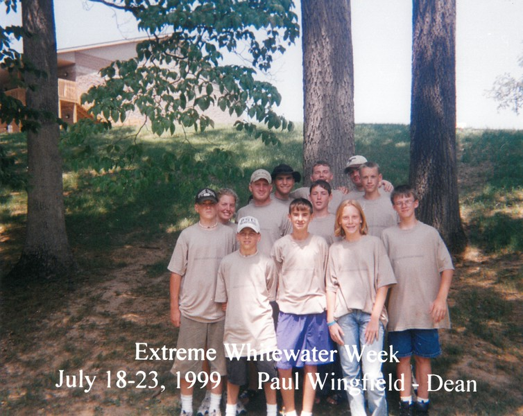 Extreme Whitewater Week July 18-23, 1999 Paul Wingfield, Dean