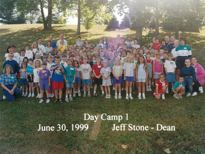Day Camp 1, June 30, 1999 Jeff Stone, Dean