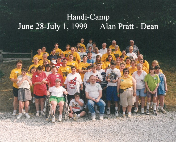 Handi-Camp, June 28-July 1, 1999 Alan Pratt, Dean