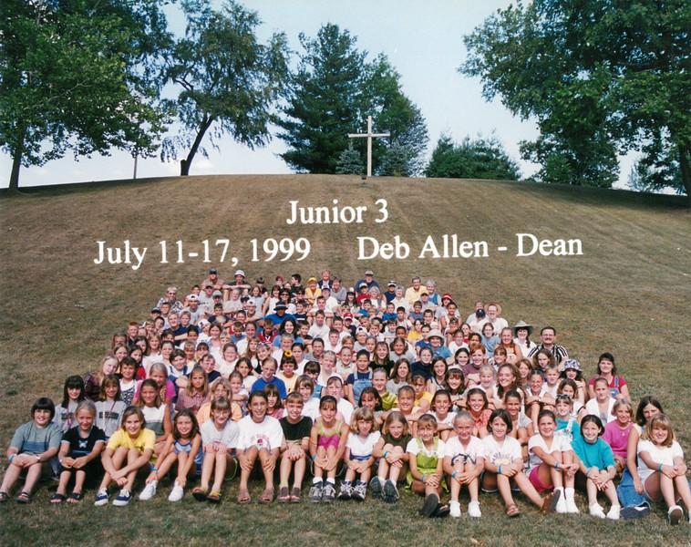 Junior 3, July 11-17, 1999 Deb Allen, Dean