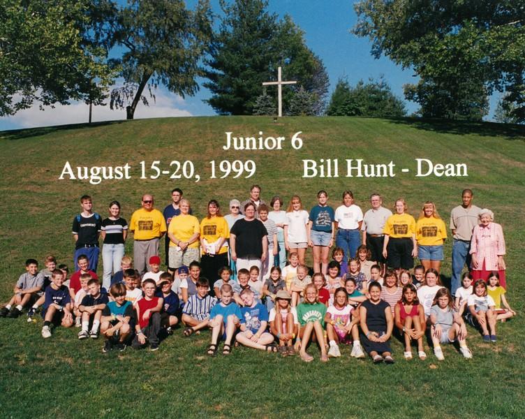 Junior 6, August 15-20, 1999 Bill Hunt, Dean