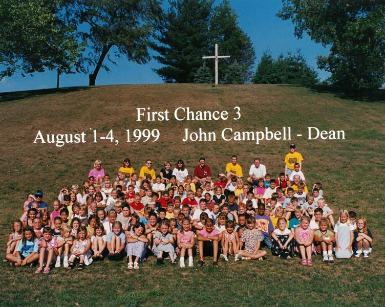 First Chance 3, August 1-4, 1999 John Campbell, Dean