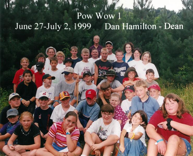 Pow Wow 1, June 27-July 2, 1999 Dan Hamilton, Dean