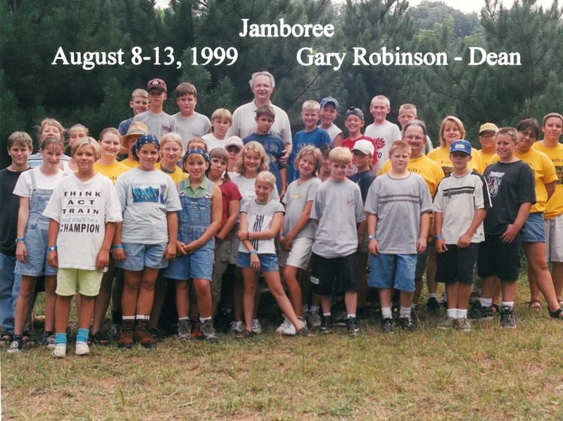 Jamboree, August 8-13, 1999 Gary Robinson, Dean