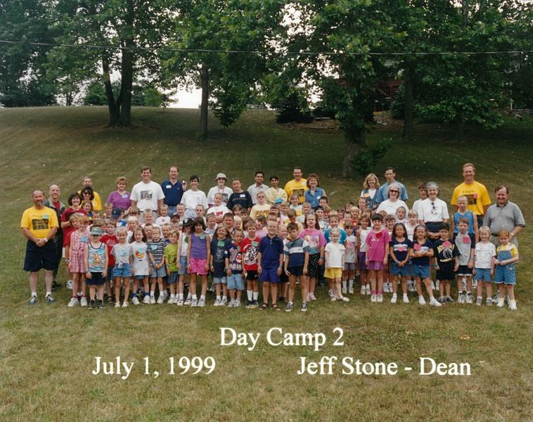 Day Camp 2, July 1, 1999 Jeff Stone, Dean