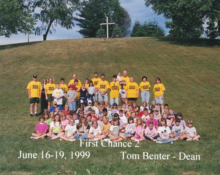First Chance 2, June 16-19, 1999 Tom Benter, Dean