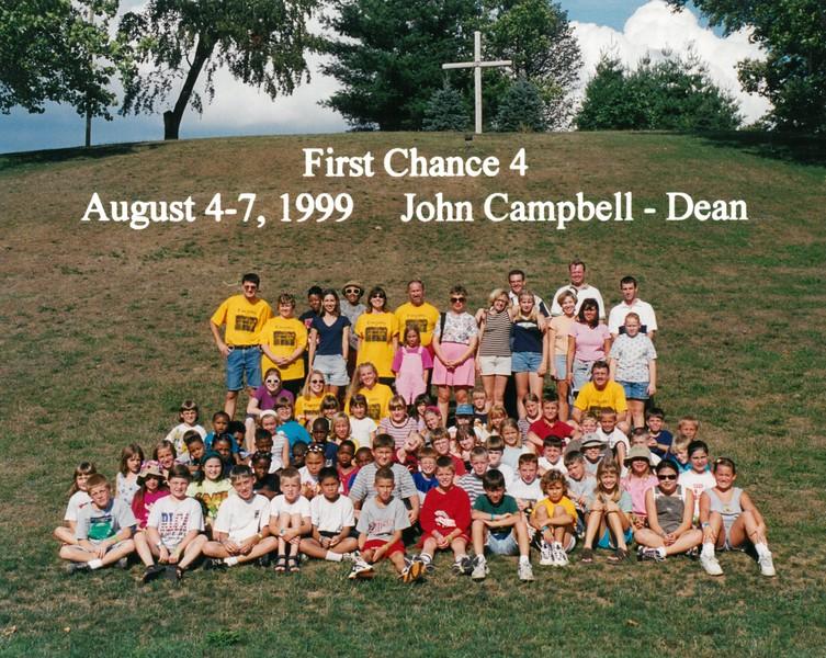 First Chance 4, August 4-7, 1999 John Campbell, Dean