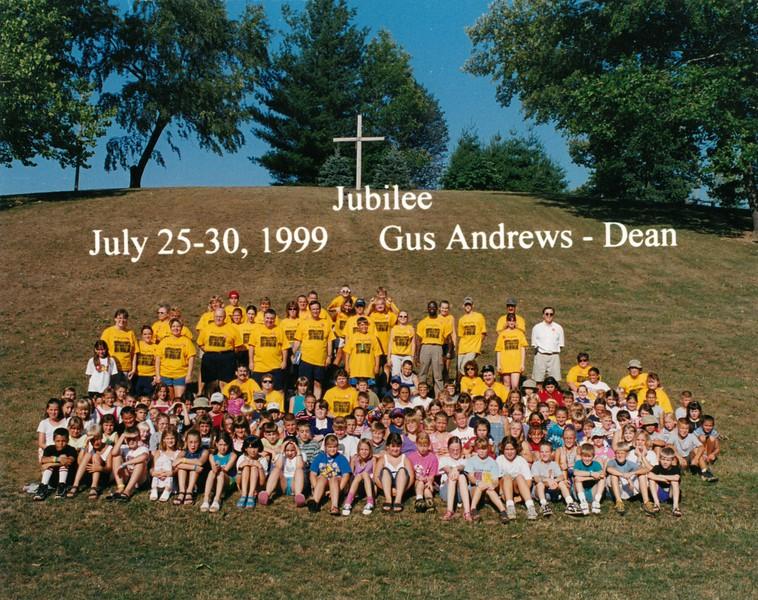 Jubilee, July 25-30, 1999 Gus Andrews, Dean