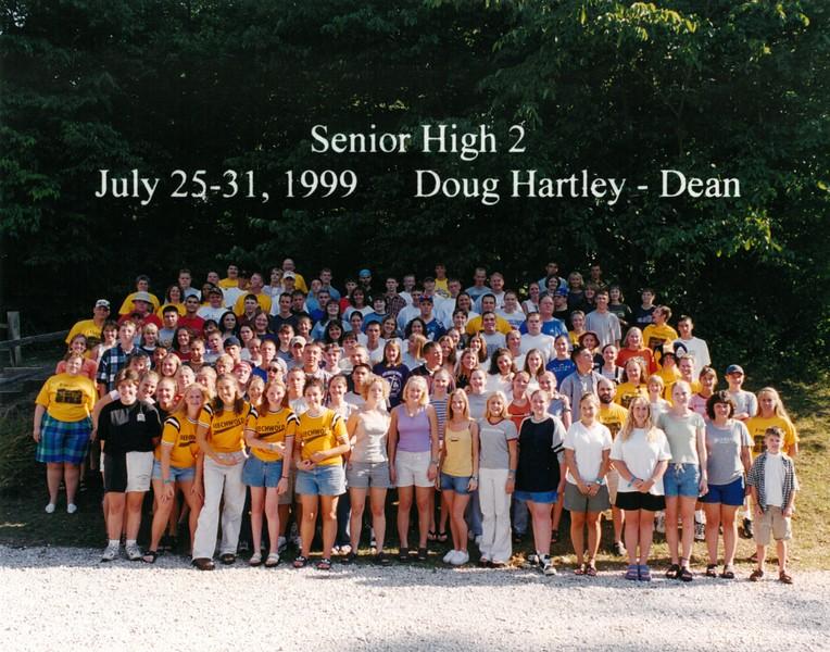 Senior High 2, July 25-31, 1999 Doug Hartley, Dean