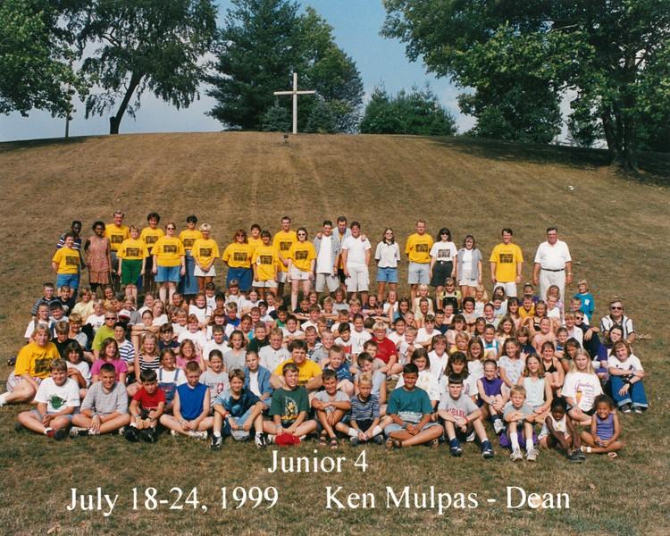 Junior 4, July 18-24, 1999 Ken Mulpas, Dean
