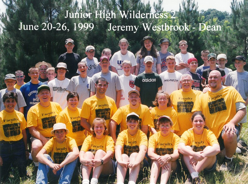 Junior High Wilderness 2, June 20-26, 1999 Jeremy Westbrook, Dean