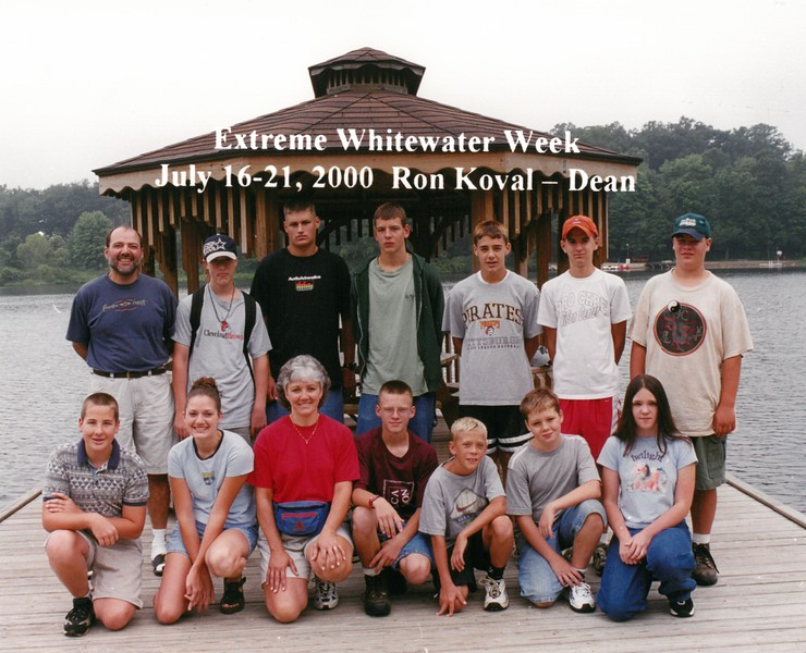 Extreme Whitewater Week, July 16-21, 2000 Ron Koval, Dean
