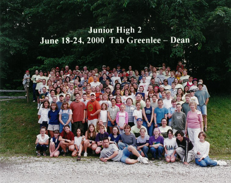Junior High 2, June 18-24, 2000 Tab Greenlee, Dean