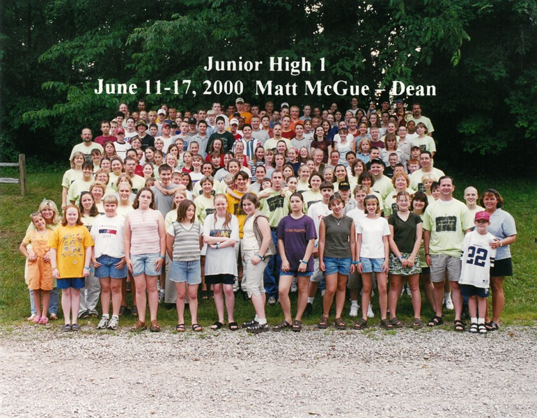Junior High 1, June 11-17, 2000 Matt McGue, Dean