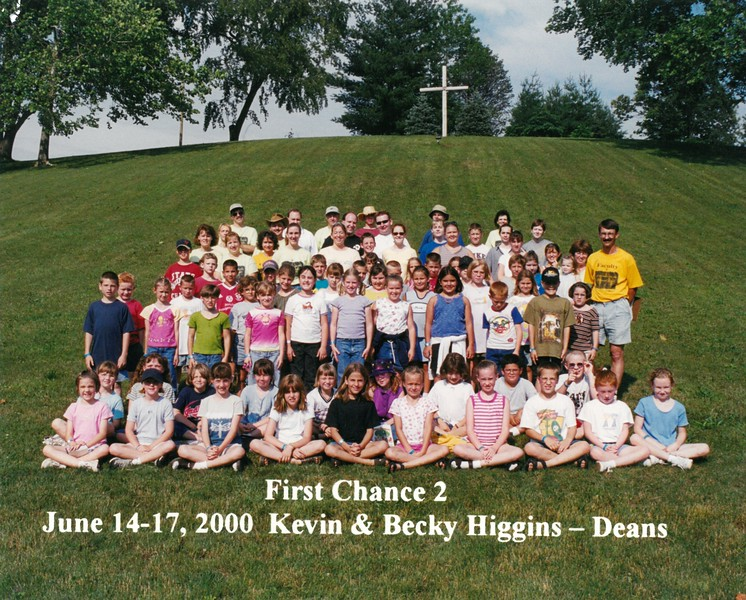 First Chance 2, June 14-17, 2000 Kevin & Becky Higgins, Deans