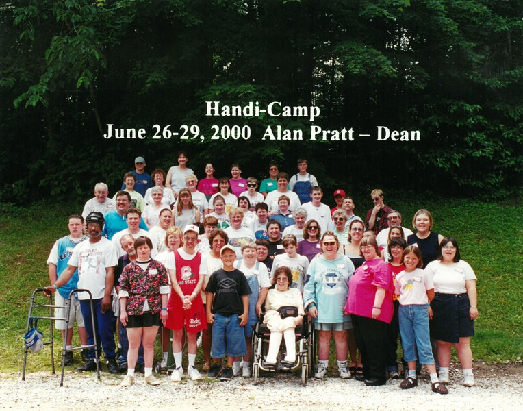 Handi-Camp, June 26-29, 2000 Alan Pratt, Dean