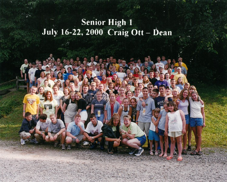 Senior High 1, July 16-22, 2000 Craig Ott, Dean