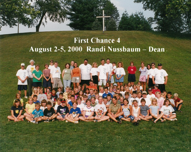 First Chance 4, August 2-5, 2000 Randi Nussbaum, Dean