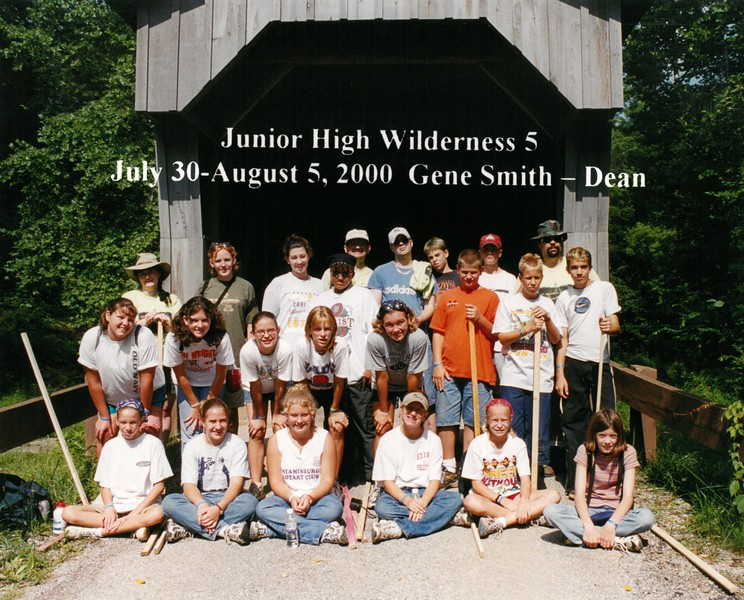 Junior High Wilderness 5, July 30-August 5, 2000 Gene Smith, Dean