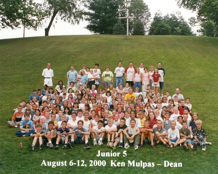 Junior 5, August 6-12, 2000 Ken Mulpas, Dean