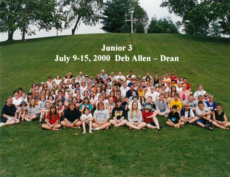 Junior 3, July 9-15, 2000 Deb Allen, Dean