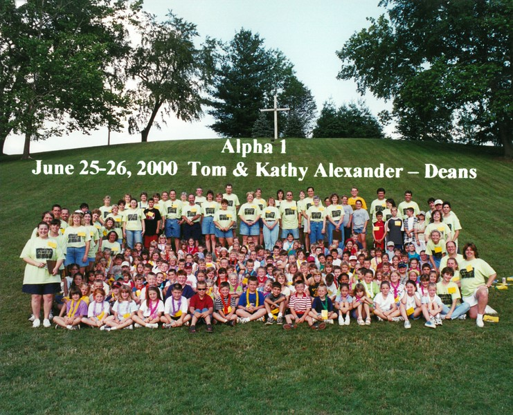 Alpha 1, June 25-26, 2000 Tom & Kathy Alexander, Deans
