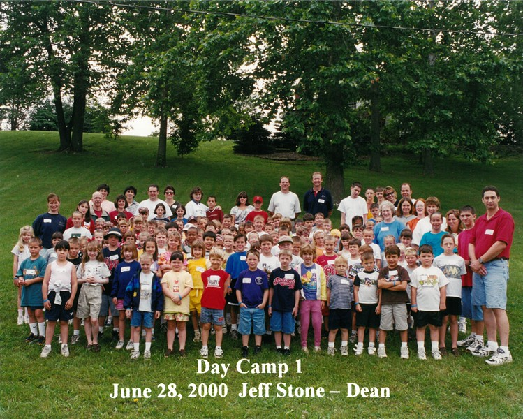 Day Camp 1, June 28, 2000 Jeff Stone, Dean