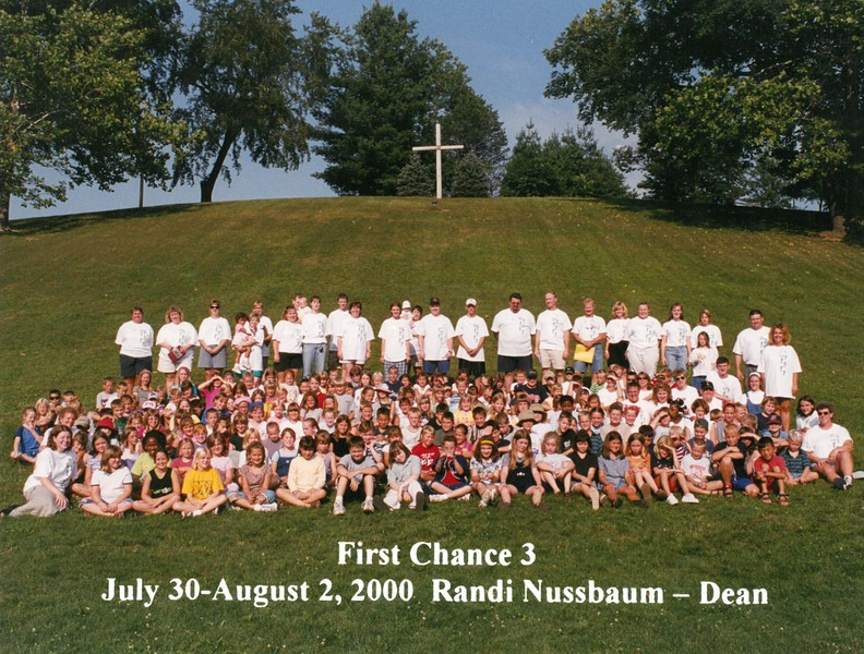 First Chance 3, July 30-August 2, 2000 Randi Nussbaum, Dean