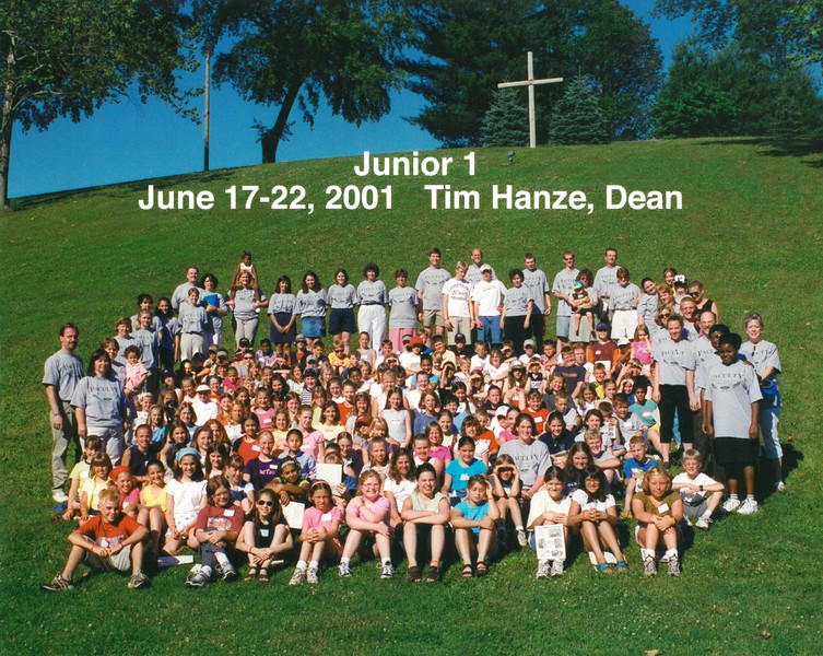 Junior 1, June 17-22, 2001 Tim Hanze, Dean