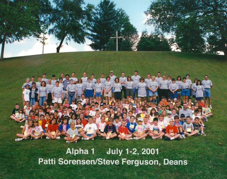 Alpha 1, July 1-2, 2001, Patti Sorensen & Steve Ferguson, Deans