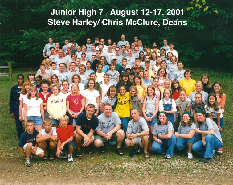 Junior High 7, August 12-17, 2001 Steve Harley & Christ McClure, Deans