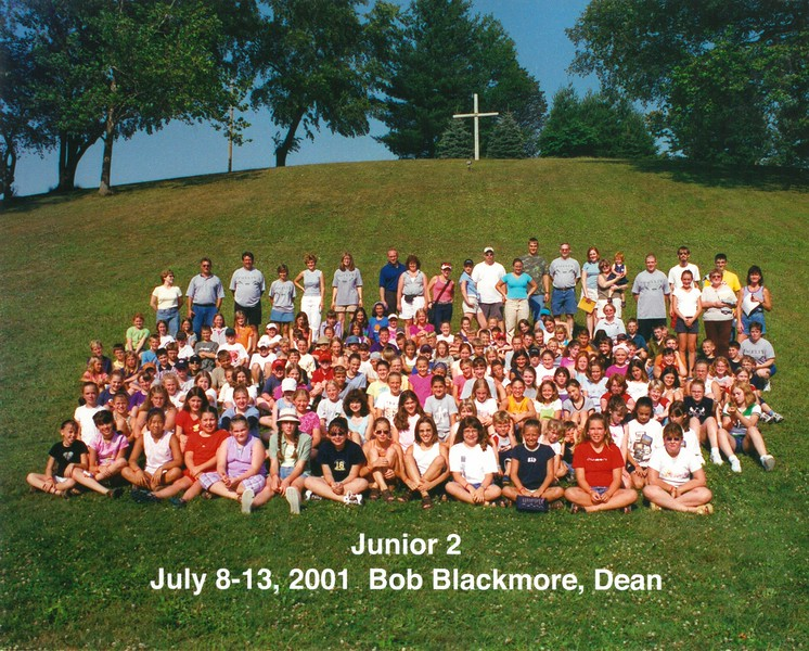Junior 2, July 8-13, 2001 Bob Blackmore, Dean