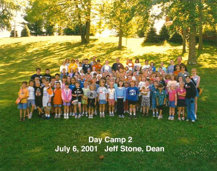 Day Camp 2, July 6, 2001 Jeff Stone, Dean