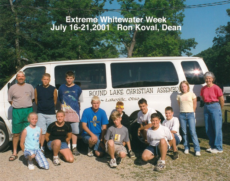 Extreme Whitewater Week, July 16-21, 2001 Ron Koval, Dean
