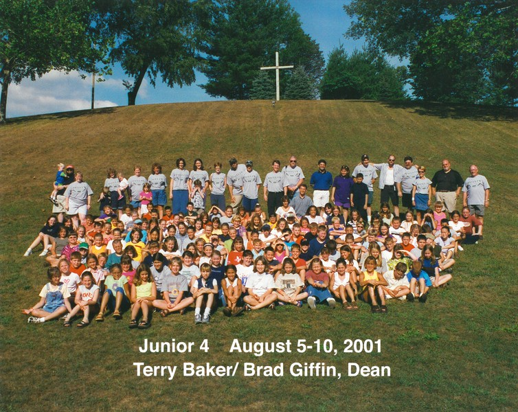 Junior 4, August 5-10, 2001 Terry Baker & Brad Giffin, Deans