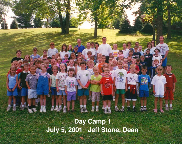 Day Camp 1, July 5, 2001 Jeff Stone, Dean